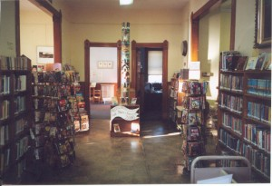 Totem Pole from the old circulation desk