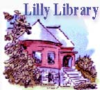 sketch of the library with foliage in bloom