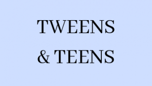 Materials and Programming for Tweens and Teens
